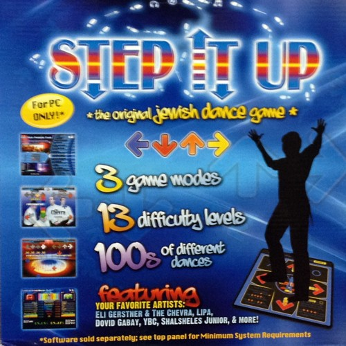 Step Fitness Dvd Uk: Jewish Dance Mat